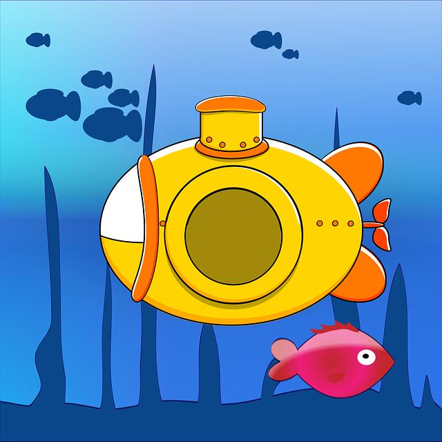 ryba pod ponorkou