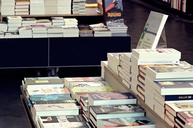 Knihkupectví - vnitřní prostory