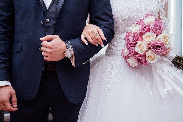 pár svatba